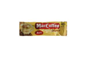 Напій кавовий розчинний 3в1 Original Mini MacCoffee м/у 16х12г
