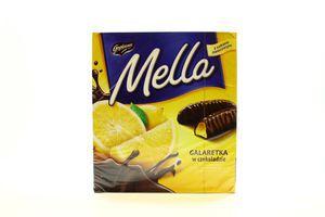 Мармелад Mелла 190г лимон у чорному шоколаді