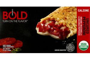 BOLD Organics Pizza Pocket Uncured Pepperoni