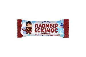 Мороженое пломбир шоколадный Эскимос Рудь м/у 80г
