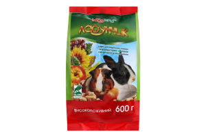 Корм для морских свинок и декоративных кроликов Ласунчик Hobby Meal м/у 600г