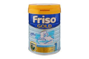 Смесь молочная сухая для детей с рождения до 6 месяцев 1 Gold LockNutri Friso ж/б 800г