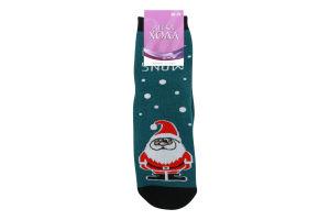 Шкарпетки жіночі Легка хода №5386 25 темно-бірюзовий меланж