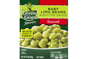 Green Giant Steamers Baby Lima Beans & Butter Sauce