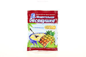 Каша овсяная с ананасом Овсянушка Ваша Каша м/у 40г