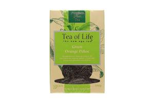 Чай зеленый Tea of Life Green OP байхов.крупнолист