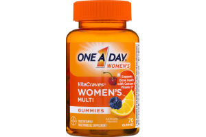 One A Day Women's VitaCraves Women's Multi Gummies - 70 CT
