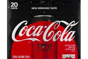 Coca-Cola Zero - 20 PK