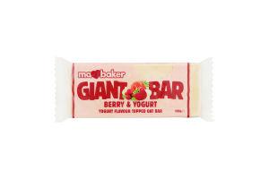 Батончик Ma Baker овсяный йогурт–ягоды