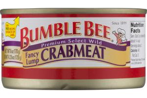 Bumble Bee Fancy Lump Crabmeat