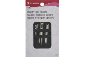 Singer Tapestry Hand Needles - 12 CT