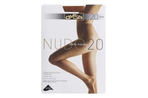 Колготки жіночі Omsa Nudo №219OM 20den 2-S cappuccino
