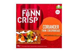 Сухарики житні з коріандром Finn Crisp к/у 175г