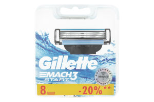 Картридж для бритья Gillette Mach3 Start