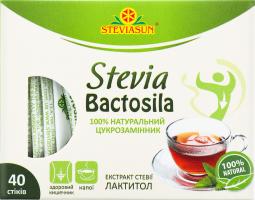 Сахарозаменитель натуральный Stevia Bactosila Steviasun к/у 40шт
