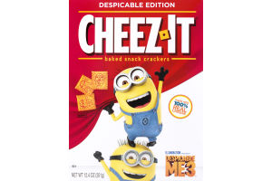 Cheez-It Despicable Me 3 Baked Snack Crackers