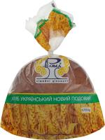 Хліб подовий Український новий Рома м/у 0.75кг