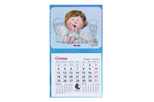 Календар настінний Гапчинська Магніт 1шт