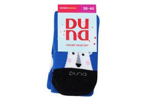 Шкарпетки жіночі Duna №3099 23-25 синій
