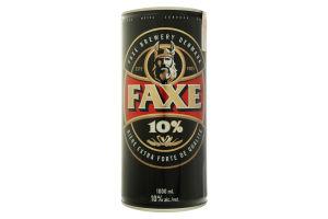 Пиво Faxe 10% з/б 1л х6