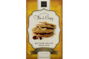 Salem Baking Co. Delightfully Thin & Crispy Cookies Butter Pecan Praline