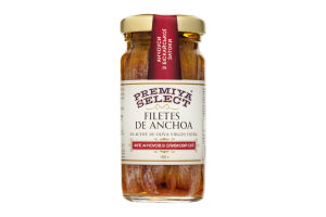 Анчоусы Premiya Select филе в оливковом масле