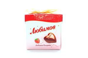 Конфеты клубничный йогурт Rainford Любимов 208г