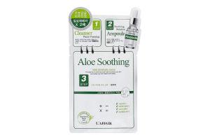 Маска для лица 3-х компонентная Aloe Soothing L'affair 1шт