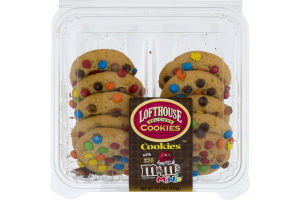 Lofthouse Cookies with Milk Chocolate M&M's Minis