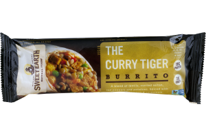 Sweet Earth Burrito The Curry Tiger