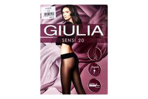 Колготки жіночі Giulia Sensi 20den 3-M nero