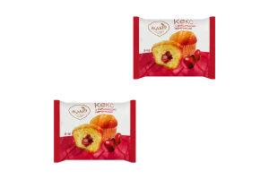 Кекс с вишневой начинкой Жако м/у 50г