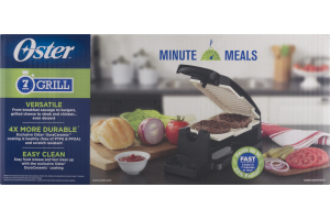 Oster Minute Meals 7 Min Grill
