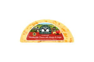 Сыр 50-54% с манго и имбирем Yorkshire Wensleydale кг