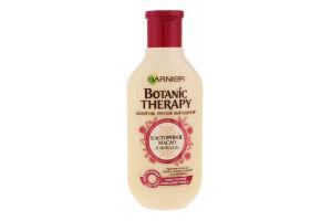 Шампунь для волос против выпадения Касторовое масло и миндаль Botanic Therapy Garnier 250мл