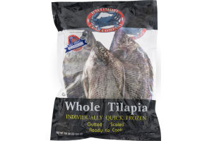 Whole Tilapia Gutted Scaled