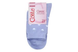 Шкарпетки жіночі Conte Classic №7С-22СП 23 143 блідо-фіолетовий