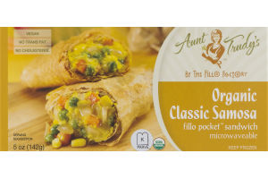 Aunt Trudy's Organic Classic Samosa