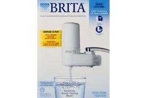 Brita Basic On Tap Faucet Water Filter System