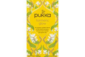 Pukka Tea Sachets Turmeric Glow - 20 CT