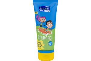 Suave Kids Styling Gel Cool Ocean Blast