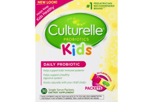 Culturelle Kids Daily Probiotic Formula Packets - 30 CT