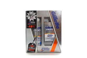 Набір Gillette Mach 3 Гель д/гоління 200мл+Бальзам 50мл