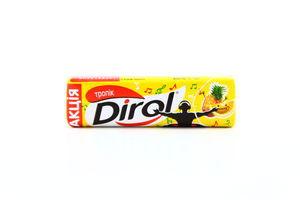 Резинка жев. тропик коктейль Dirol 13,6г