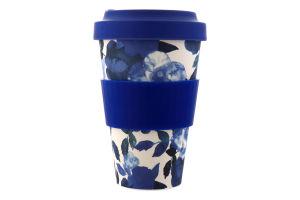 Чашка бамбуковая 430мл в ассортименте Y*-1