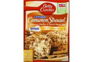 Betty Crocker Cinnabon Cinnamon Streusel Muffin & Bread Mix