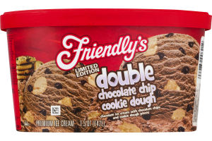 Friendly's Ice Cream Double Chocolate Chip Cookie Dough