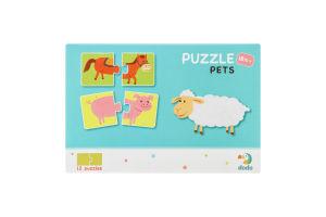 Пазл для дітей від 18міс №300115 Pets Dodo 24ел
