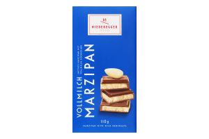 Шоколад молочний з марципановим наповнювачем Niederegger к/у 110г
