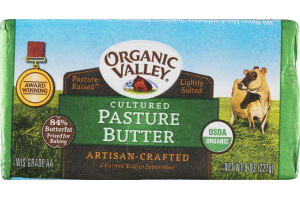 Organic Valley Cultured Pasture Butter